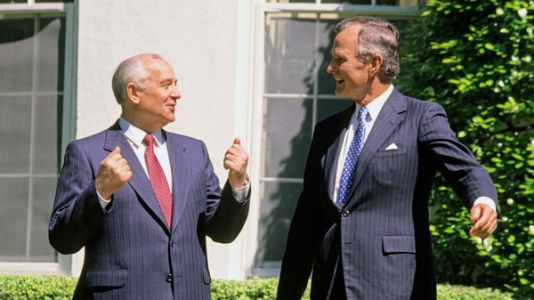 Chicken Diplomacy: How President Bush Went For The Gut In The Former USSR