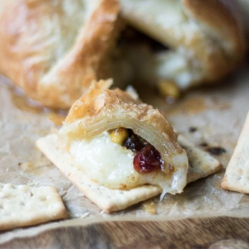 Puff Pastry Baked Brie