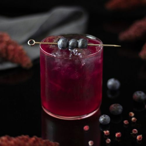 Sumac Blueberry Lemonade