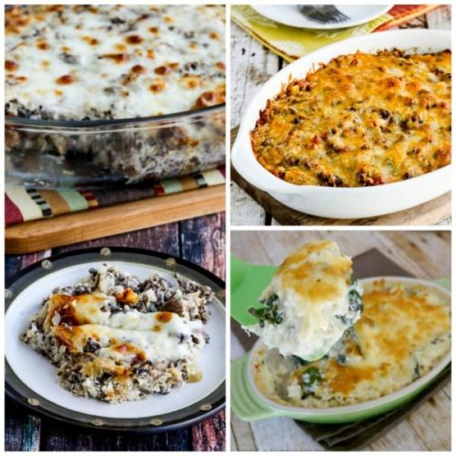Amazing Low-Carb and Keto Casseroles with Cauliflower