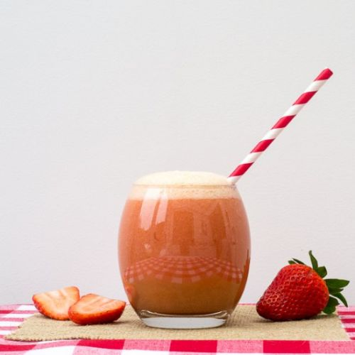 Strawberry & Nectarine Mocktail