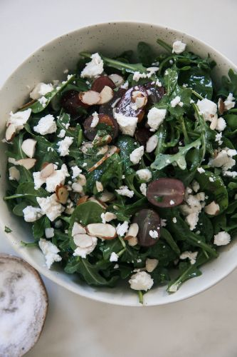 Enjoy a Light Grape and Feta Salad
