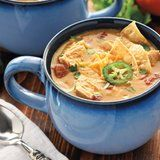 Slow-Cooker King Ranch Chicken Soup Is How You're Going to Survive Winter