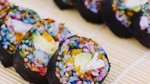 Sushi Is the Latest Cuisine to be Infected by the Rainbow Virus