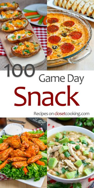 100 Game Day Snacks