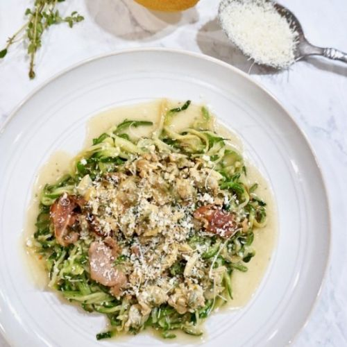 White Clam Sauce with Zoodles