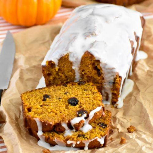 Rum Raisin Pumpkin Bread
