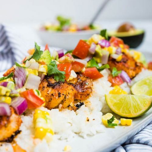 Blackened Cod with Avocado Salsa