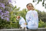 Disney's Matching Tie-Dye Spirit Jerseys For Dogs and Their Owners Will Make You Chuckle