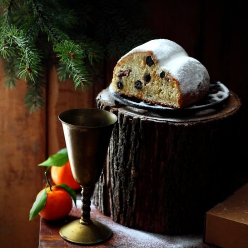Quarkstollen German Christmas Bread