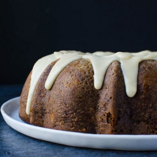 Super-Moist Apple Walnut Cake