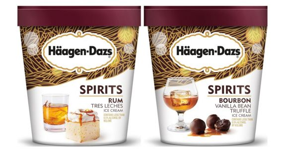 Häagen-Dazs Launches Booze-Infused Ice Cream
