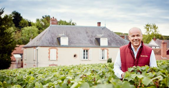 Krug Cellar Master Eric Lebel Doesn't Have Any Bad Wine in His Cellar