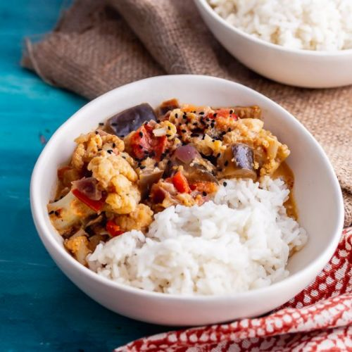 Pressure Cooker Vegetable Curry