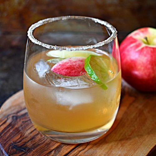 Smoky Apple Margarita
