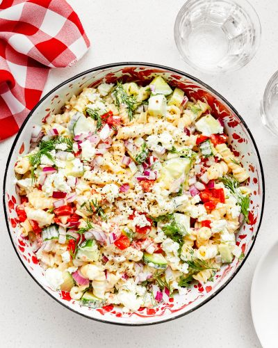 SPONSORED POST: A Light and Lemony Pasta Salad for a Perfect Summer Day
