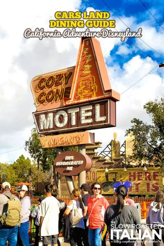 Cars Land Dining Guide - California Adventure Disneyland