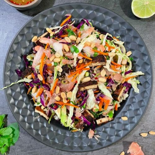 Vietnamese Pomelo and Prawn Salad