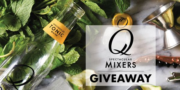 Win a case of mixers from Q Drinks