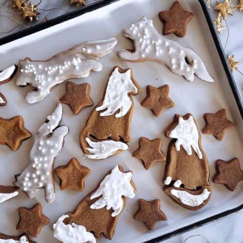 Gingerbread Cookie Foxes