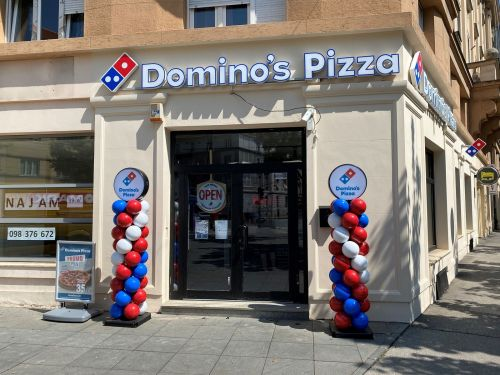 Domino's Opens First Store in Croatia
