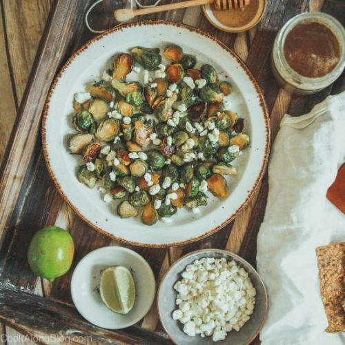 Roasted Brussel Sprouts With Honey