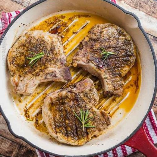 Ancho Chile Pork Chops
