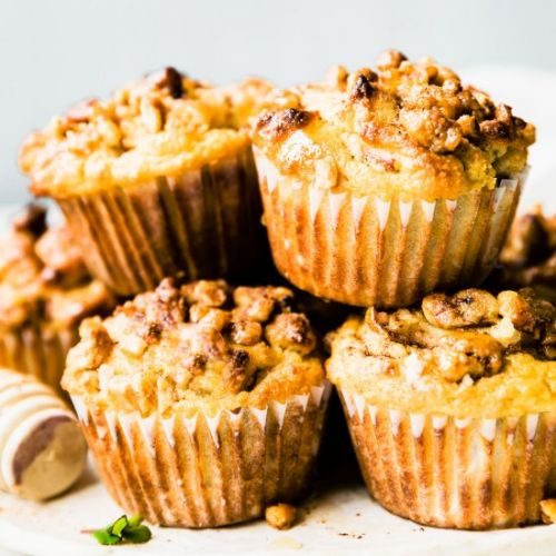 Paleo Spiced Pear Muffins