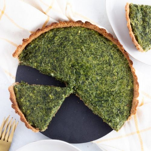 Spinach Goat Cheese Tart