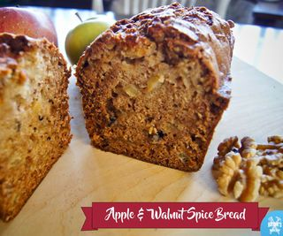 Apple & Walnut Spice Bread!