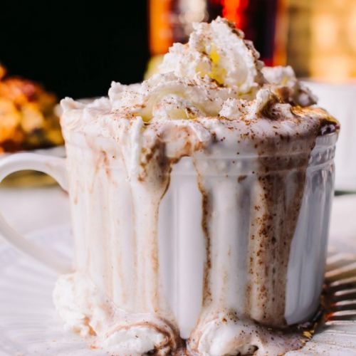 Low Carb Bourbon Hot Chocolate