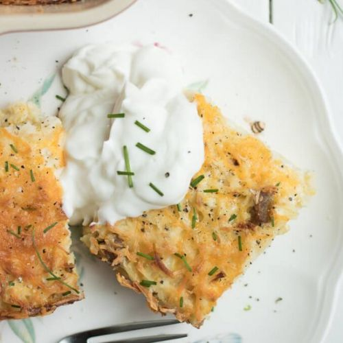 Sausage Hash Brown Breakfast Bake