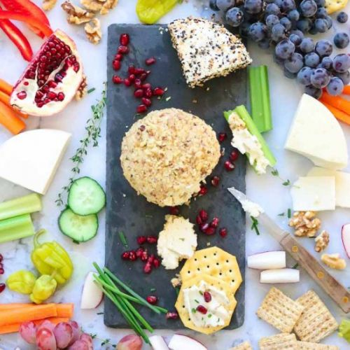 Vegan Cream Cheese Ball