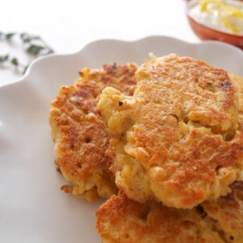 Garbanzo Bean Fritters