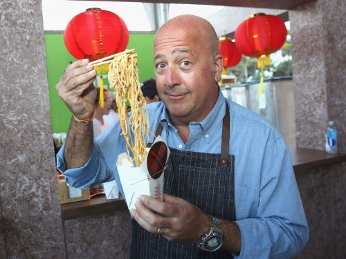 Andrew Zimmern Will Sample America's Best Meals on Wheels on 'Big Food Truck Tip''