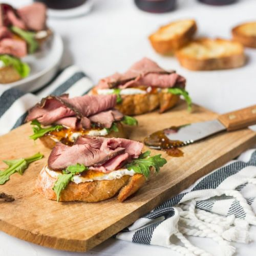 The Best Crostini Party Appetizer