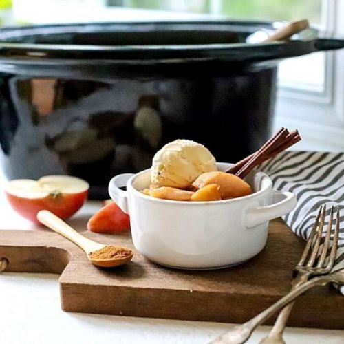 Crockpot Apples with Cinnamon