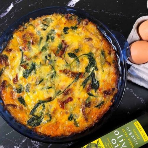 Keto Crustless Quiche