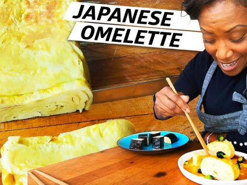 Chef Nyesha Arrington Makes Tamagoyaki, a Traditional Japanese Omelette