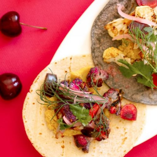 Cauliflower and Lentils Vegan Tacos