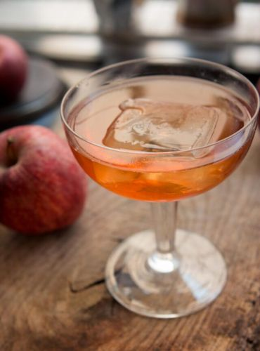 Far From the Tree: Apple-Pear Cocktail