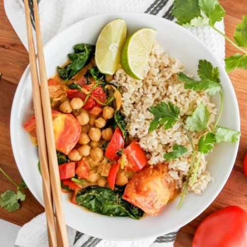 Chunky Chickpea Curry