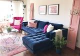 This Instagram-Famous Article Sectional Sofa Turned My Apartment Into a Comfy Haven