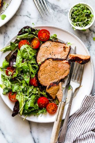 Grilled Cumin Spiced Pork Tenderloin