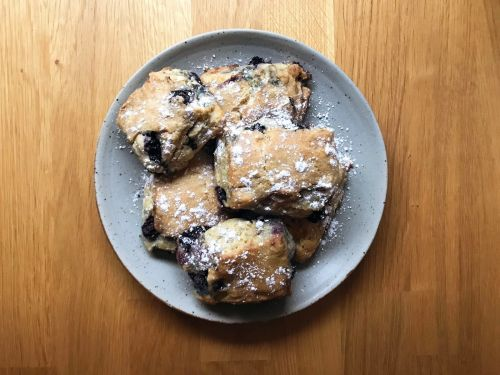 Buttermilk Blueberry Scones