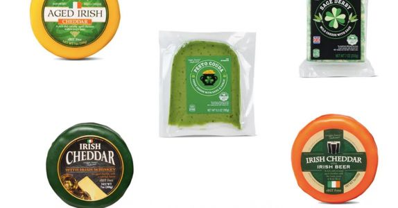Aldi's St. Patrick's Day Cheeses Are Booze-Infused