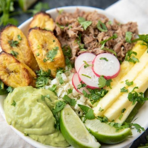 Whole30 Pork and Pineapple Bowls