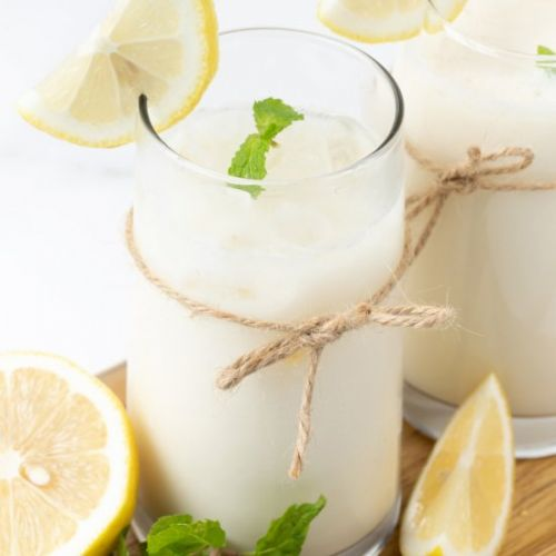 Milk and Lemon Juice Recipe