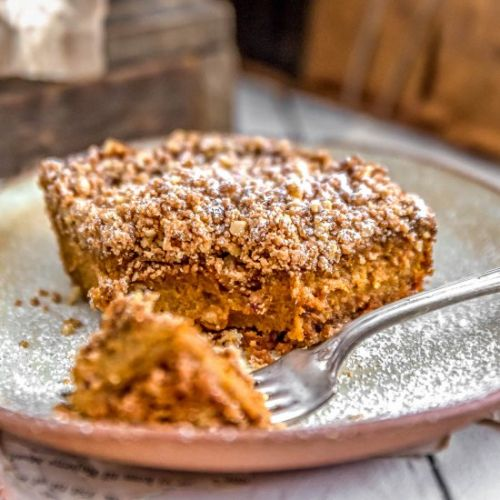 Vegan Pumpkin Pie Crumble