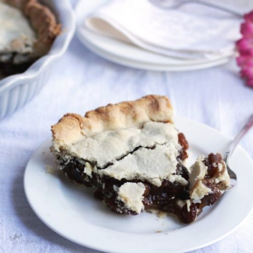 Gluten Free Raisin Pie